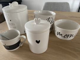 Bastion Collections    Voorraadpot Small   heart