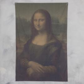 Wanddoek mona lisa 120x180cm