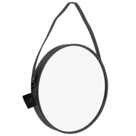 Spiegel rond zwart - 60 cm