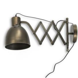 Wandlamp schaarlamp uittrekbaar