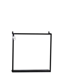 Wandrek metaal 45x45x12.5cm (hb1187)