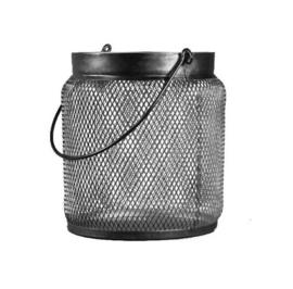 Lantaarn metaal L (19x19x21)