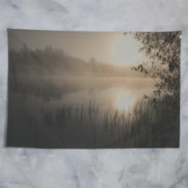 Wanddoek natuur 180x120cm