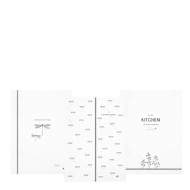 Theedoek van Bastion Collections - wit assorti