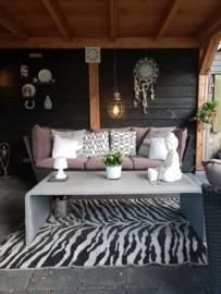 Hanglamp op batterij ideaal voor veranda's