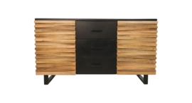 Sideboard Lillie - 150 cm - acaciahout/ijzer Sideboard Lillie - 150 cm - acaciahout/ijzer