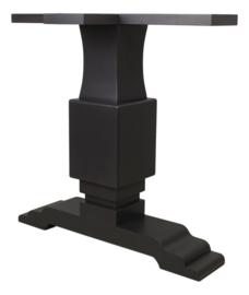 Onderstel voor rechthoekige tafel - staal kleurig - set