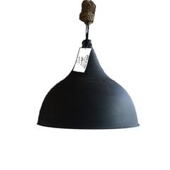 Metalen hanglamp Kolony met touw  maat L (MF023)