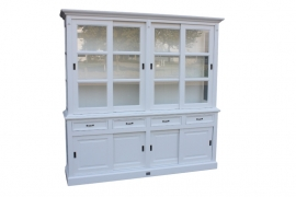 Winkelkast 220 cm - wit HSM Collection