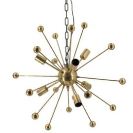 Hanglamp met bollen goud