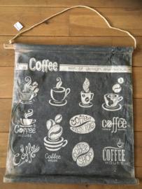 Fotokaart koffie klein