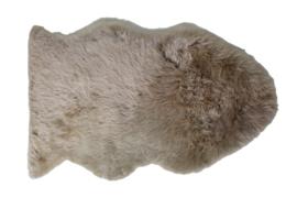 Schapenvacht groot: ivoor, taupe, grijs en cappucino