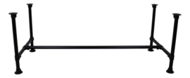 Tafelpoot Steigerpijp small - zwart ø42mm tbv tafel 180/200cm - metaal