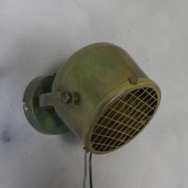Metalen wandlamp kolony  groen