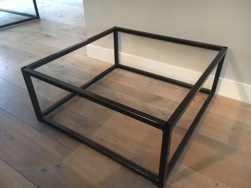 Stalen Frame Salontafel.Los Frame Staal Tbv Salontafel Los Frame 150 X 70 Cm