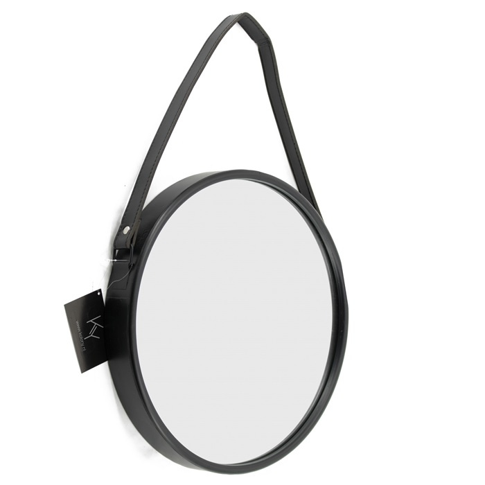 Metalen spiegel rond 30 x 3cm