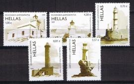 Griekenland 2009 michel 2523/2527 postfris. cat waarde 13,-
