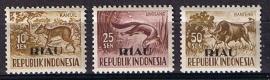 Zonnebloem Riau 23/25 postfris. Cat waarde 27.00