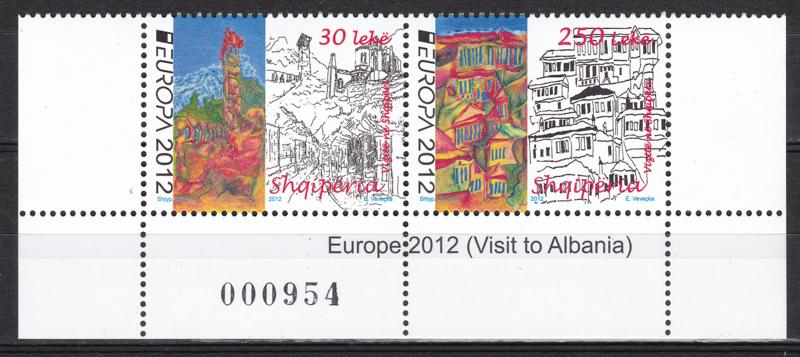 Albanie 2012