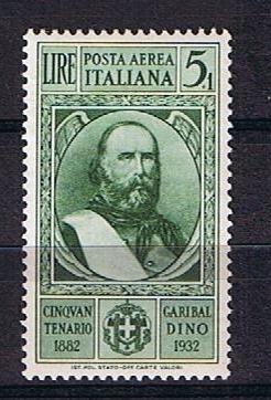 Michel no 405 Garibaldi 5+1 lire postfris. Cat waarde 15.00