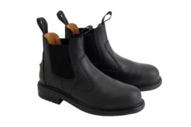 Horka jodphur-schoen Protecto (stalen neus).