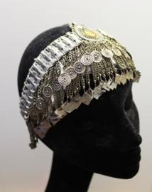 Vintage hoofd sieraad Roaring Twenties Burlesque  ZILVER kleurig - Vintage head jewel Roaring Twenties Burlesque