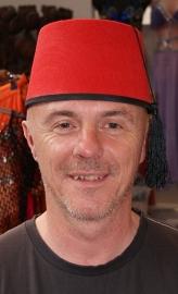 Fez Fes Tarboosh hoofddeksel heren - Fez men's arabic /Turkish hat