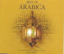 3-box CD Best of Arabica - Arabian Lounge - Oriental Clubbing