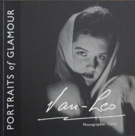 Portraits of Glamour - Book by Van Leo. Photogragrapher, Cairo. Collectors item.