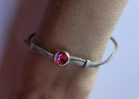 "Veter armband, vriendinnen armband voor meisjes meiden ""Derde Oog"" - XS S size adaptable - Girls bracelet ""Third Eye"" Leather Lace bracelet"