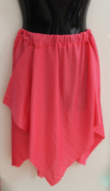 5-Puntenrokje KORAAL ROOD - one size S M L XL XXL - 5-points skirt CORAL RED - Jupe 5 pointes ROUGE CORAIL