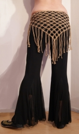 Jazzpants Tribal Fusion broek ZWART - Jazz Pants Tribal Fusion pants BLACK