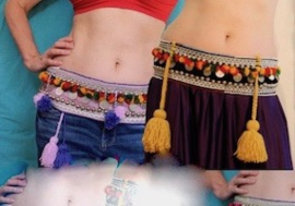 Tribal fusion gordels - belts