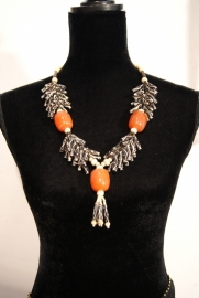 Tribal Fusion halssnoer Berber stijl - Tribal fusion necklace Berber inspired
