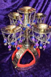 Luxe Kandelaar Shamadan Candelabra voor Zaffa - Shamidan de luxe Egypt