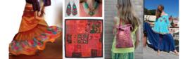 Boho Ibiza hippie chick fashion