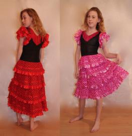 Spaans Arabische Buikdanskleding