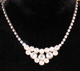 "Halssnoer  ""Strass Only"" - Necklace ""Strass Only"""