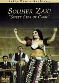 "DVD  Oriental Dance, Bellydance, Raqs Sharqi : Souher Zaki ""Sweet Star of Cairo"" Soheir Zaki"