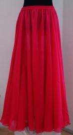 2-delig setje Cirkelrok + sluier FUCHSIA / HARD ROZE - 2-piece set Circle skirt + veil FUCHSIA / BRIGHT PINK