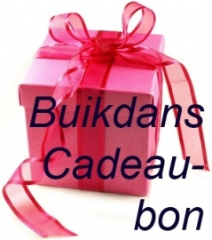 Buikdans Cadeau Bon - 30,-€ - Bellydance Gift Voucher