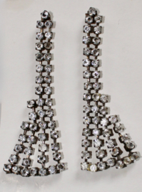 Oorbellen Strass Only -  1 pair of Light weight Strass Only Earrings