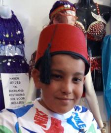 Fez Fes Tarboosh hoofddeksel heren ROOD - Fez men's arabic /Turkish hat ROOD