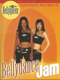 DVD + CD Bellyqueen, Bellydance Jam - Kaeshi Chai and Amar Gamal - ENGLISH and SPANISH spoken