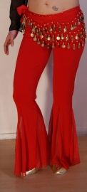 Jazzpants ROOD - one size - Jazz pants RED