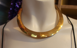 Halssnoer Faraonisch volledig GOUD kleurig - Choker  - Choker Necklace Pharaonic GOLD colored