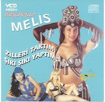 """Oryantal Melis"" 1 VCD / DVD  Turkish style bellydance by bellydancers Sidelya, Pervin Tekgul, Asuhan"