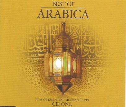 3-box CD Best of Arabica - Arabian Lounge - Oriental Clubbing