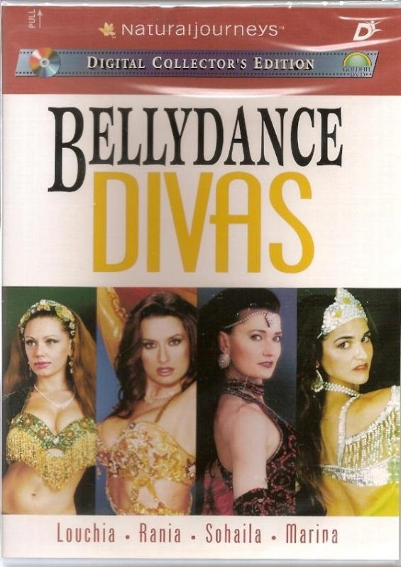 DVD Bellydance Divas : bellydancers Louchia, Rania, Sohaila & Marina