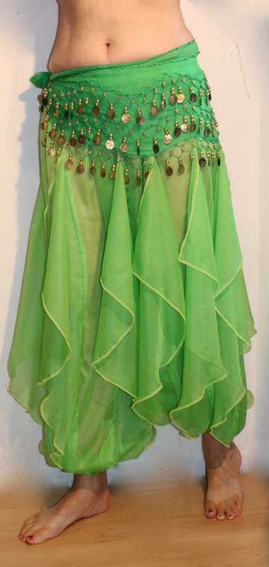 Wavepants FEL LICHT GROEN / FELGROEN effen - one size - Wavepants LIGHT GREEN